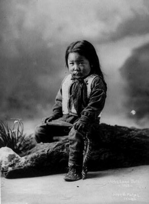 ... John Lonely, Native People, 1900 2, Lonely Bull Sioux, Native American