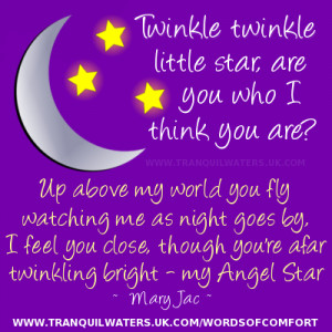 Angels Bright Star Poem