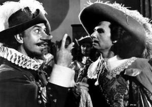 ... (Albert Cavens) in the motion picture Cyrano De Bergerac (1950
