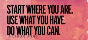 Wise Words: Arthur Ashe