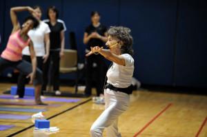 Yoga at the Pentagon with Tao Porchon-Lynch - Dr. Terri Kennedy, Dulia ...