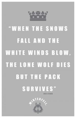 Eddard Stark Quote by LiquidSoulDesign