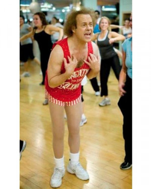 Richard Simmons, fitness guru behind