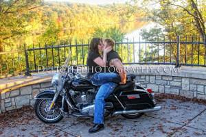 Biker Couple Review: Engagement Session Stillwater, MN