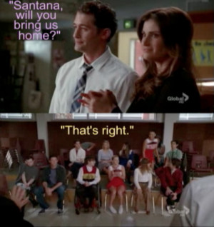 To Santana Glee Quotes Brittany
