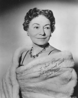 Thelma Ritter was an American actress, best known for her comedic ...