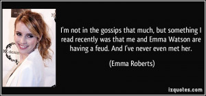 More Emma Roberts Quotes