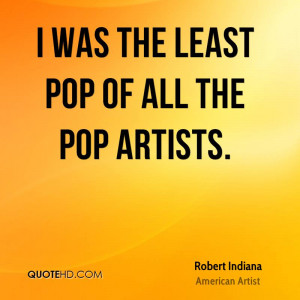 Robert Indiana Art Quotes