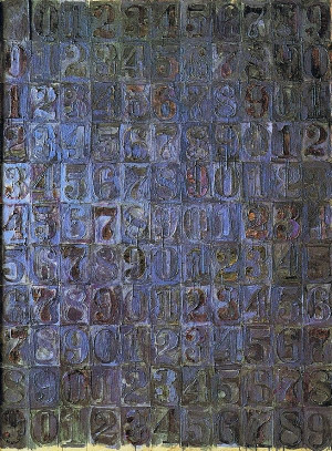 Gray Numbers, 1958 by Jasper Johns