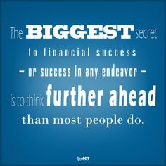 : The Secret to Financial Success. - TaxACT - #tips #success #quotes ...