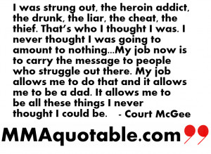 Overcoming Addiction Quotes Court mcgee on overcoming