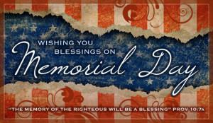 Memorial Blessings Ecard