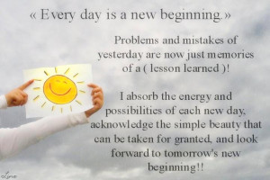 New Day New Beginning Quotes Fresh start quotes