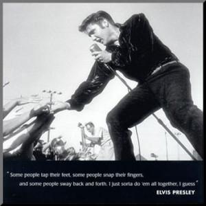 Elvis in Concert, 1956.