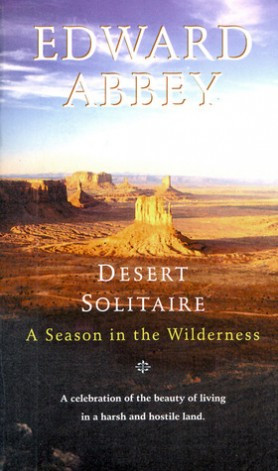 Cover of Edward Abbey's book Desert Solitaire