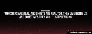 Stephen King Quote Cover Photo