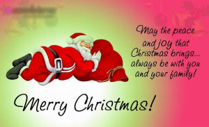 Happy Christmas Quotes Holiday Sayings, Greetings For Family, Friends ...