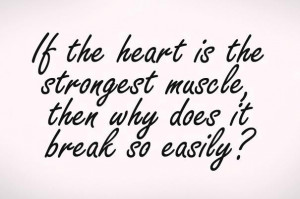 break, heart, quotes