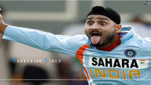 FUNNY INDIAN CRICKETER HARBHAJAN SINGH PICTURE