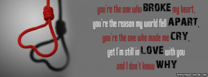Heartbreak Quotes Facebook Covers