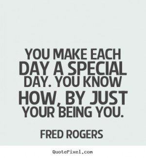 fred rogers friendship print quote on canvas make your own quote ...