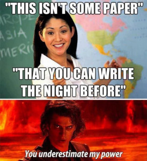 Writing papers for you