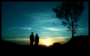 To download click on Peaceful Romantic Evening then choose save image ...
