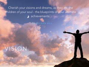 Business Vision Quotes Creating a vision is the