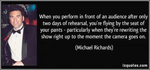 Michael Richards 39 s quote 1