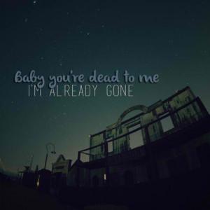 Dead to me - Melanie Martinez