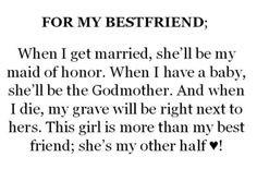 ... My Best Friend; She's My Other Half!!!! ♥ #TrueFriends #BestFriends