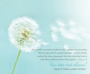 You Are Not Alone | Creative LDS QuotesThe Lord, Elaine Dalton, Quotes ...