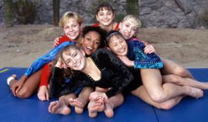 Magnificent 7-Amanda Borden, Dominique Moceanu, Jaycie Phelps, Amy ...
