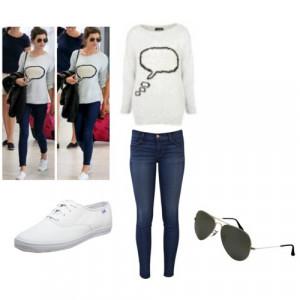 Eleanor Calder Wearing Louis Tomlinson Shoes