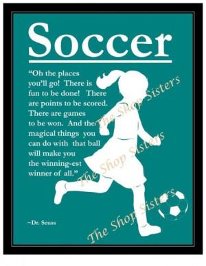 Girls Soccer, Soccer Motivation, Soccer Quotes For Girls, Soccer Life ...