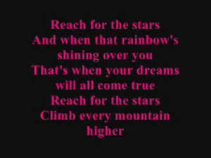 Club 7 Reach For The Stars With Lyrics