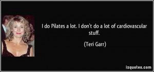 More Teri Garr Quotes