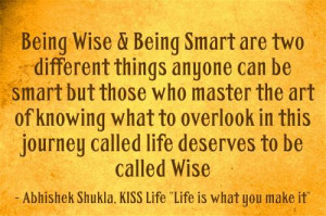Smart Quotes - Being Smart Quotes
