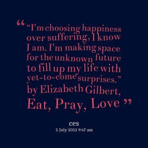 Eat, Pray, Love audiobook is available. Listen to its sample.