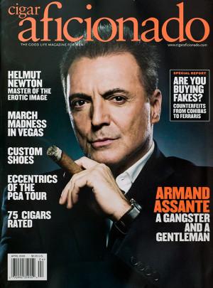 Armand Assante Cigar Gangster Gentleman Gotti Movie Wall Italian Mob