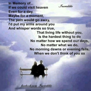 In Memory of a Loved One