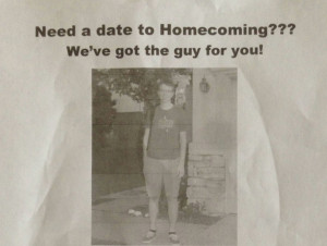 Need A Date To Homecoming We've Got The Guy For You.