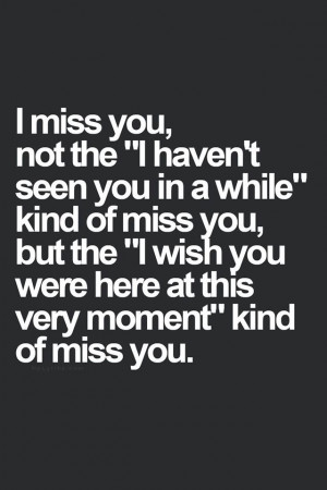 wish you were here right now!! I would so love to sit next to you ...