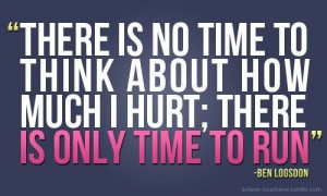 pain think running cross country quotes quote