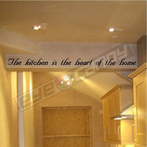 The Kitchen.... Wall Words Sticker Decal Quotes Sayings