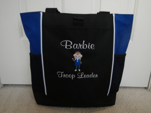 Girl Scout Tote Bag Craft