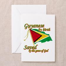 Guyanese by birth Greeting Card for