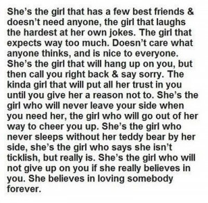 The girl every guy needs