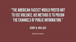 Henry Wallace Quotes