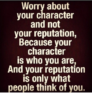 Worry upon yourself